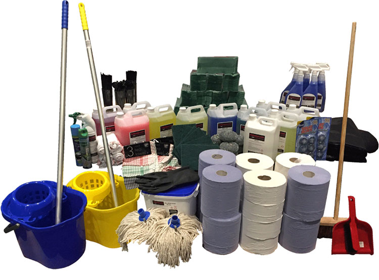 Janitorial & cleaning supplies