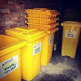Clinical waste bins 240 litre