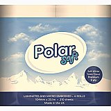BLUE POLAR SOFT TOILET ROLL 2 PLY -PACK SIZE 40