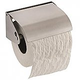 304 Grade Brushed Stainless Steel Single Flap Toilet Roll Holder